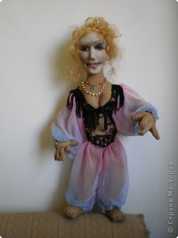 текстильная кукла - танцовщица
