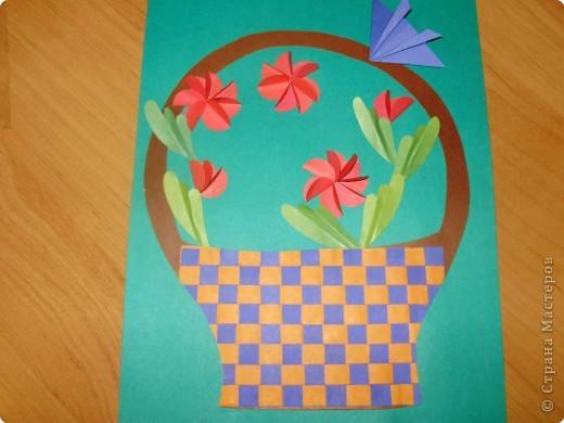 Плетеная открытка технология 4 класс конспект