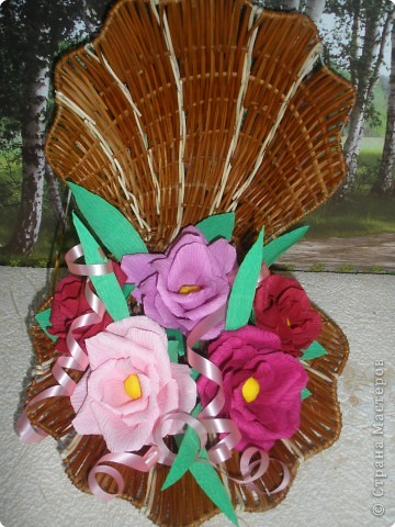 Бумагопластика: Цветочные фантазии фото 4