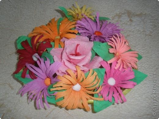 Бумагопластика: Цветочные фантазии фото 8