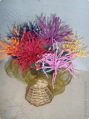 Бумагопластика: Цветочные фантазии фото 13