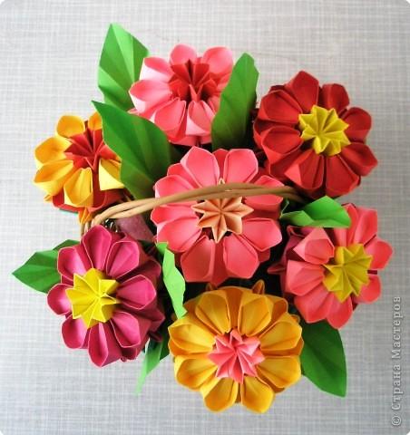 Оригами модульное: Цветочное настроение фото 2