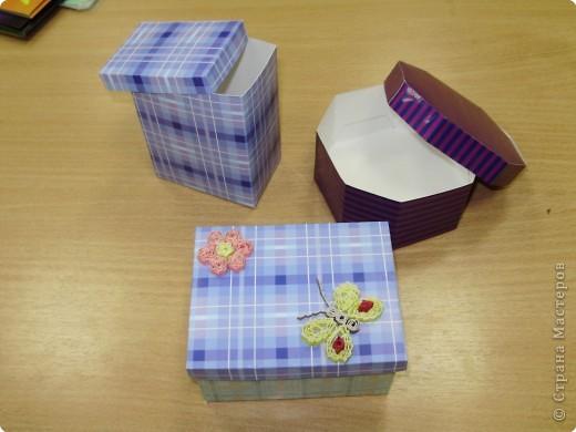 Моделирование: Коробочки для мелочей.