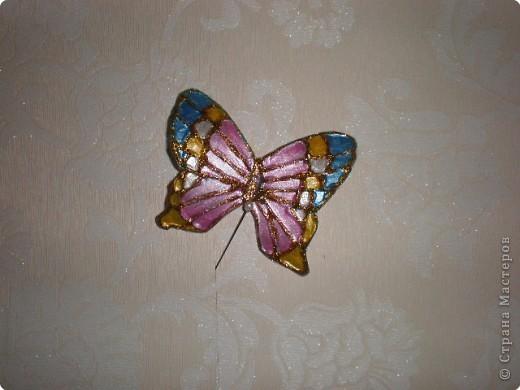 Бабочка из пластиковой бутылки фото 2