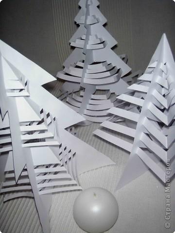 Эти елочки получаются в результате склеивания одинаковых деталей. фото 2