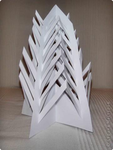 Эти елочки получаются в результате склеивания одинаковых деталей. фото 9