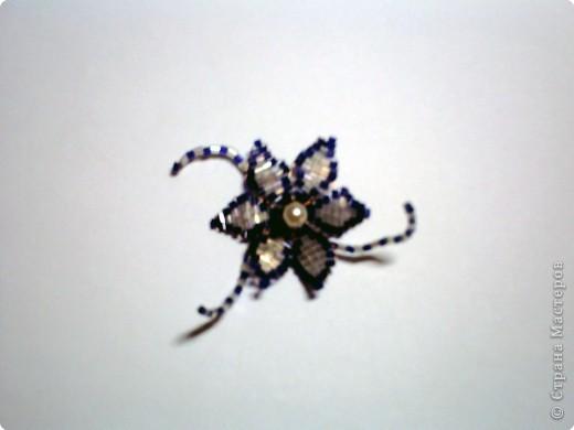 МК Лилия из бисера  фото 10