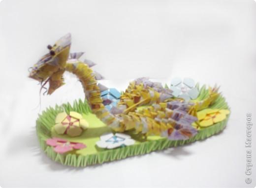 Оригами модульное: Дракоша фото 2