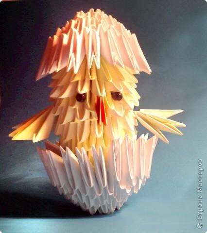 Кактус с объемными птичками фото 2