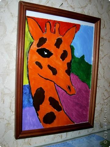 Рисование и живопись: Жираф