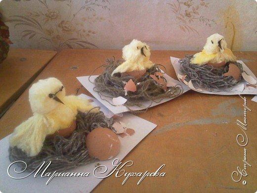 Цыплятки к Пасхе фото 2