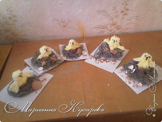 Цыплятки к Пасхе фото 1