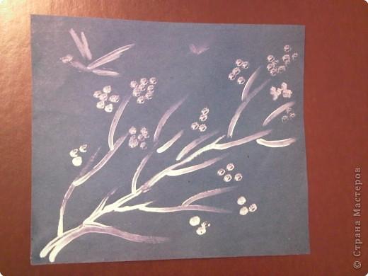 Рисование и живопись: Веточка