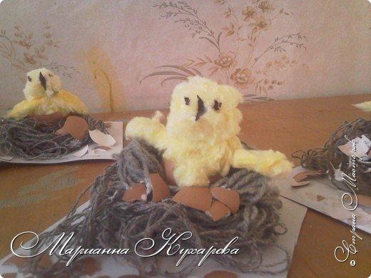 Цыплятки к Пасхе фото 3