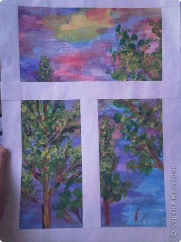Аппликация, Рисование и живопись: Вид из окна