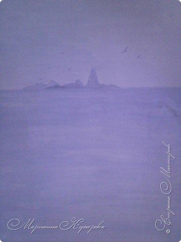 Рисование и живопись: Снежная равнина