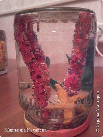 Лепка: Кораллы в банке фото 2