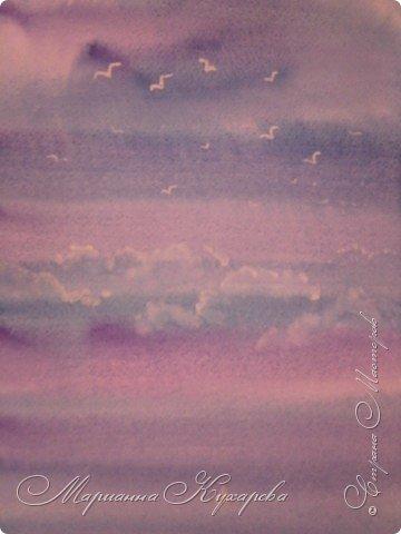 Рисование и живопись: Небо, чайки, море... фото 2