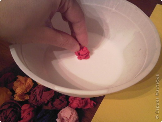 Вот такой букет в вазе предлагаю сделать вместе с детишками. фото 28
