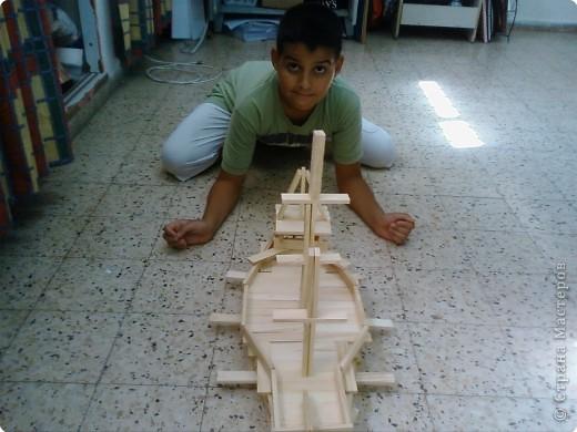 Модель корабля фото 3