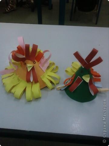 Бумагопластика: Петушинный показ мод фото 5