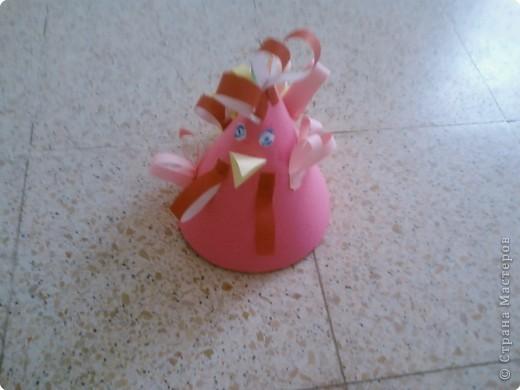 Бумагопластика: Петушинный показ мод фото 6