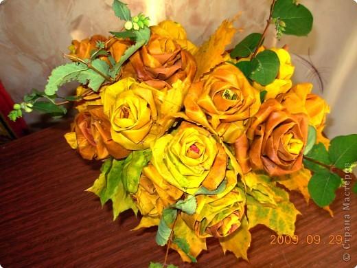 Последний букет роз осени - 2009