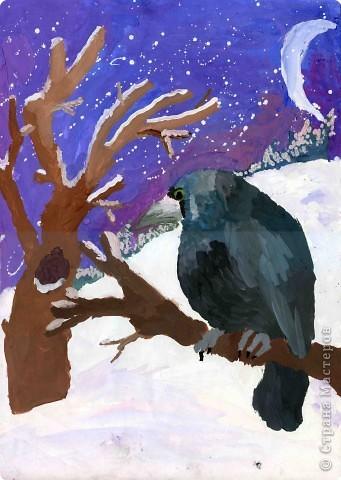 """Спешу поделиться радостью. Мой рисунок в конкурсе """"Птицы Урала"""" занял призовое место."""