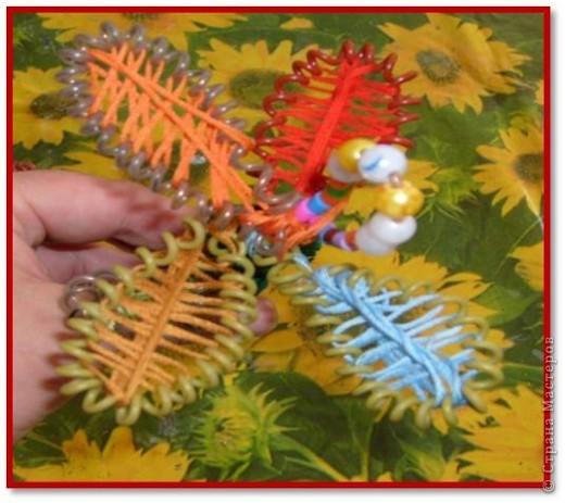 Материалы для урока: Проволока, стержень, бусинки, нитки мулине фото 18