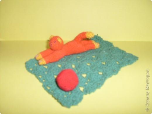 Вязание крючком: Рыжий игрун. фото 1