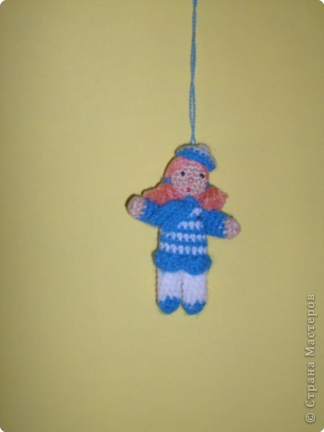 Кукла-оберег. Делались из подручного материала: солома, нитки, глина, тряпочки.   фото 3