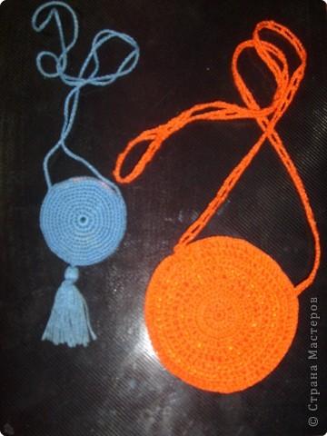 """Из """"ириса"""" люблю вязать такие вот кулоны-медальоны.  фото 2"""