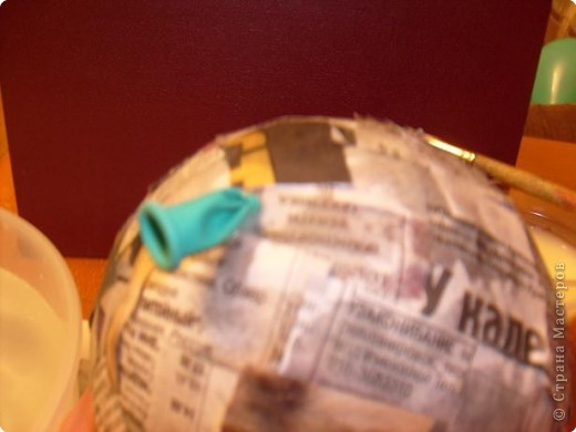 Папье-маше: Весёлый поросёнок фото 10