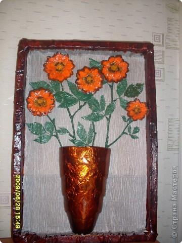 Цветы из шишек фото 1