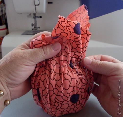 Изюминка, которая находится внутри куклы, и определила образ, образ Трындычихи.. фото 6