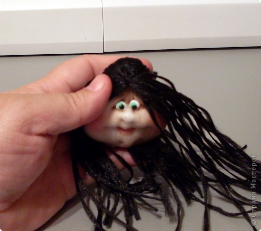 Изюминка, которая находится внутри куклы, и определила образ, образ Трындычихи.. фото 37