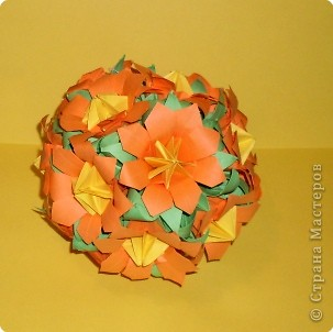 Кусудама: Цветы осени