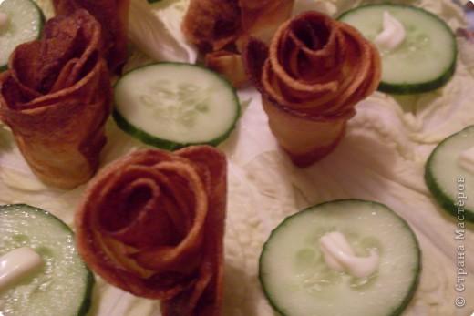Картофельные розочки фото 2