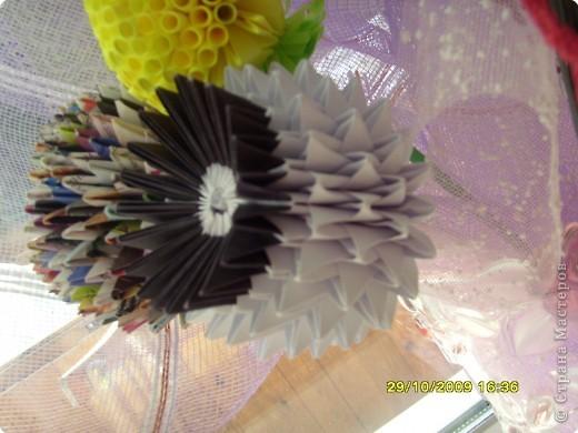 Оригами модульное: Осенний букет....... фото 4