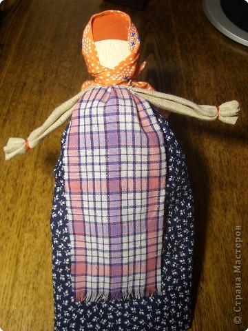 Кукла на ложке (деревянной)