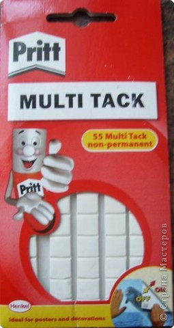 Клеевые подушечки Pritt Multi Tack фото 1