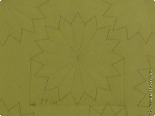 Для такого цветка нам понадобится: 6 больших розовых звезд, 4 маленькие розовые звезды, и 2 маленькие зеленые. фото 7