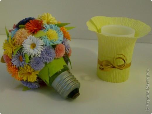 Квиллинг: Цветочный микс фото 5