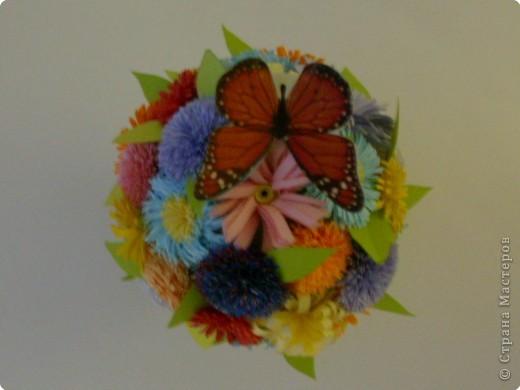 Квиллинг: Цветочный микс фото 4