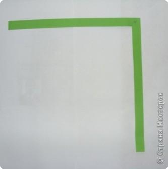 Для яблочка приготовьте прямоугольник, сделайте два надреза сверху и снизу. Сверху надрез глубже. Отогните уголки, как воротничок фото 6