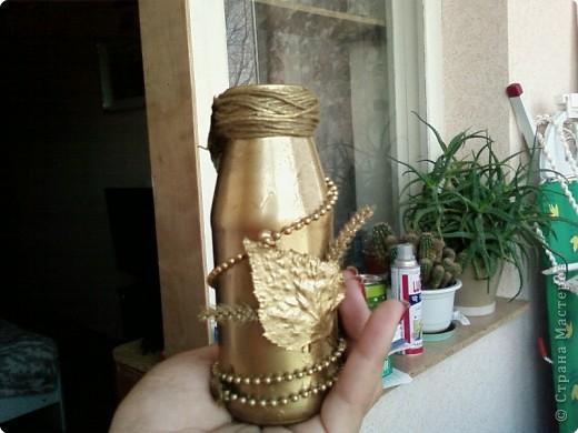 Вазочка,сделанная своими руками буквально из ничего. фото 4