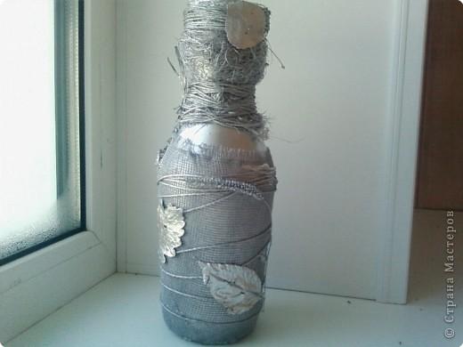Вазочка,сделанная своими руками буквально из ничего. фото 2