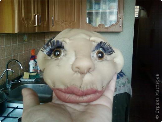 мы с дочерью увлеклись куклами,это первая.Зовут Нафаней. фото 3
