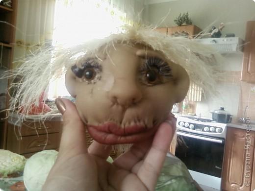 мы с дочерью увлеклись куклами,это первая.Зовут Нафаней. фото 4