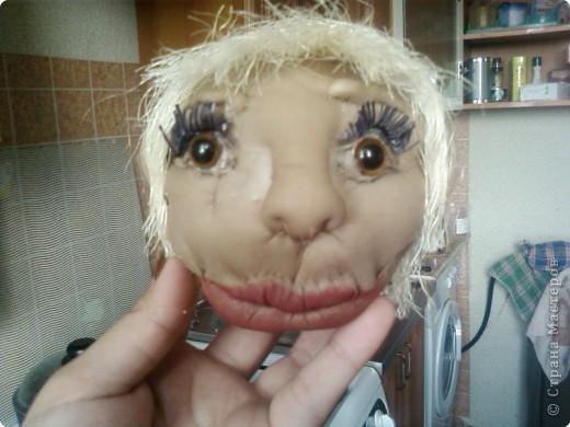 мы с дочерью увлеклись куклами,это первая.Зовут Нафаней. фото 6